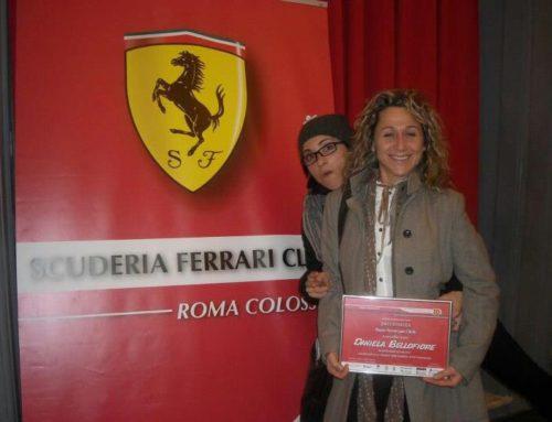 Rosso Ferrari per l'arte