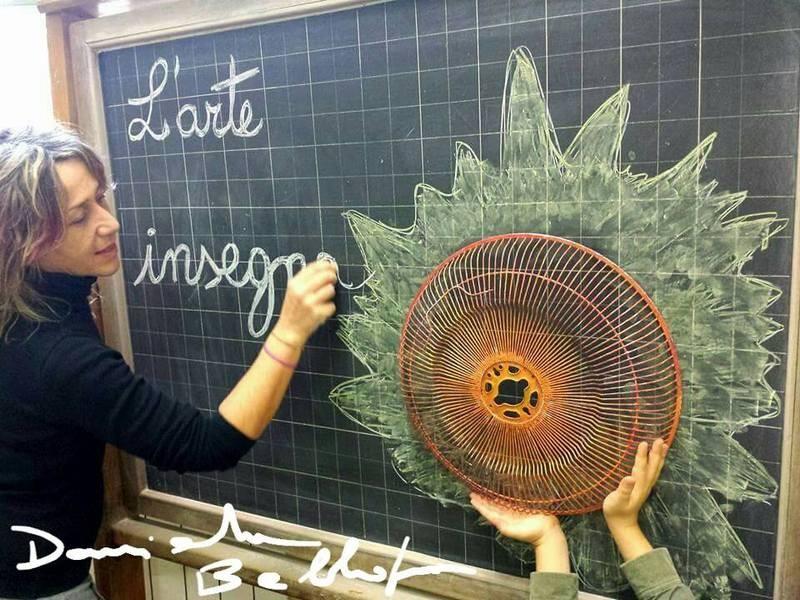 Dal ventilatore --> Il sole di Daniela Bellofiore