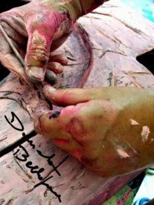 Dalle mani --> L'anima di Daniela Bellofiore