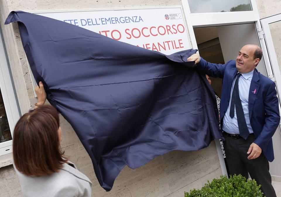 Inaugurazione pronto soccorso maternità infantile san giovanni roma di Daniela Bellofiore