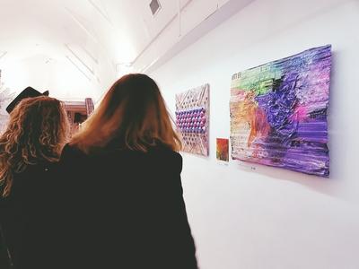 Due opere in mostra di Daniela Bellofiore