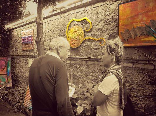 Arte in cortile di Daniela Bellofiore