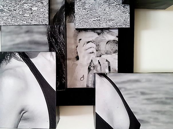 Donna scomposta di Daniela Bellofiore