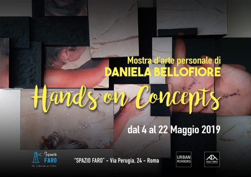 Fotografia Volumizzata mostra personale Hands on Concept