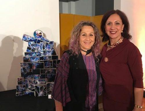 Art&Charity per il Natale dei 100 alberi d'autore di Sergio Valente di E.S. Immagine